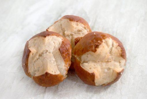 Pretzel Buns Round Bakers Kitchen UAE