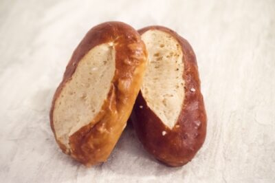 Pretzel Buns Long Bakers Kitchen UAE