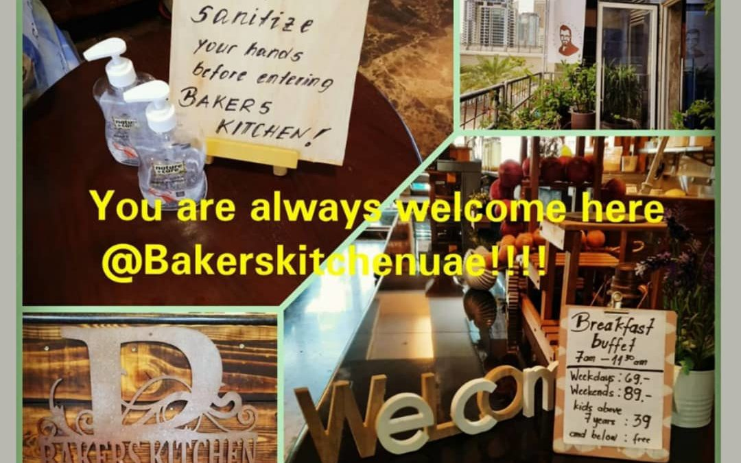You are always welcome here @BakersKitchenUAE!!!
