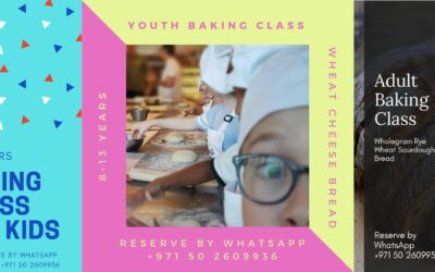 Baking Class Schedule for September