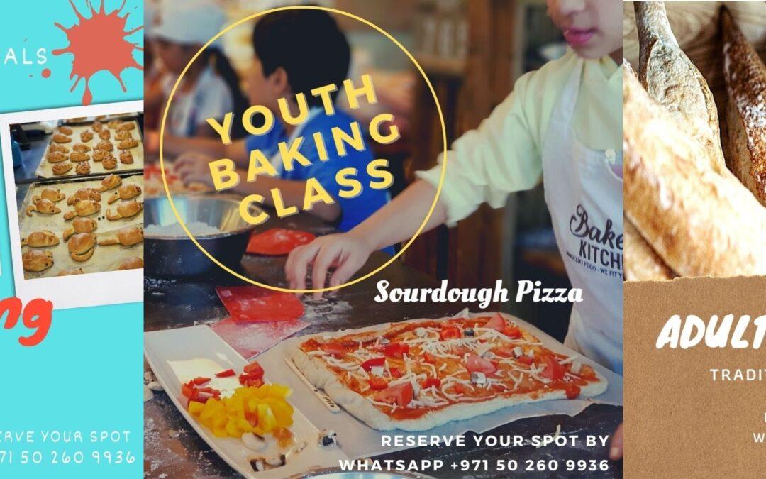 Baking Class Schedule for November