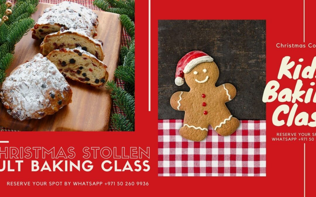 Baking Class Schedule for December