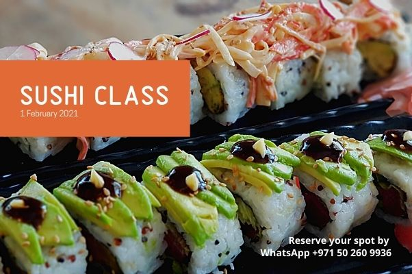 They are back!!!! Sushi Classes