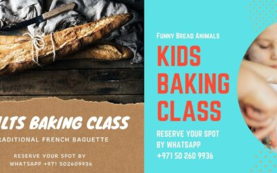 Baking Class Schedule for January
