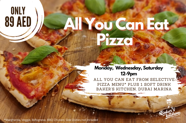 Pizza and Burger – All you can eat