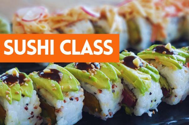 Sushi Classes
